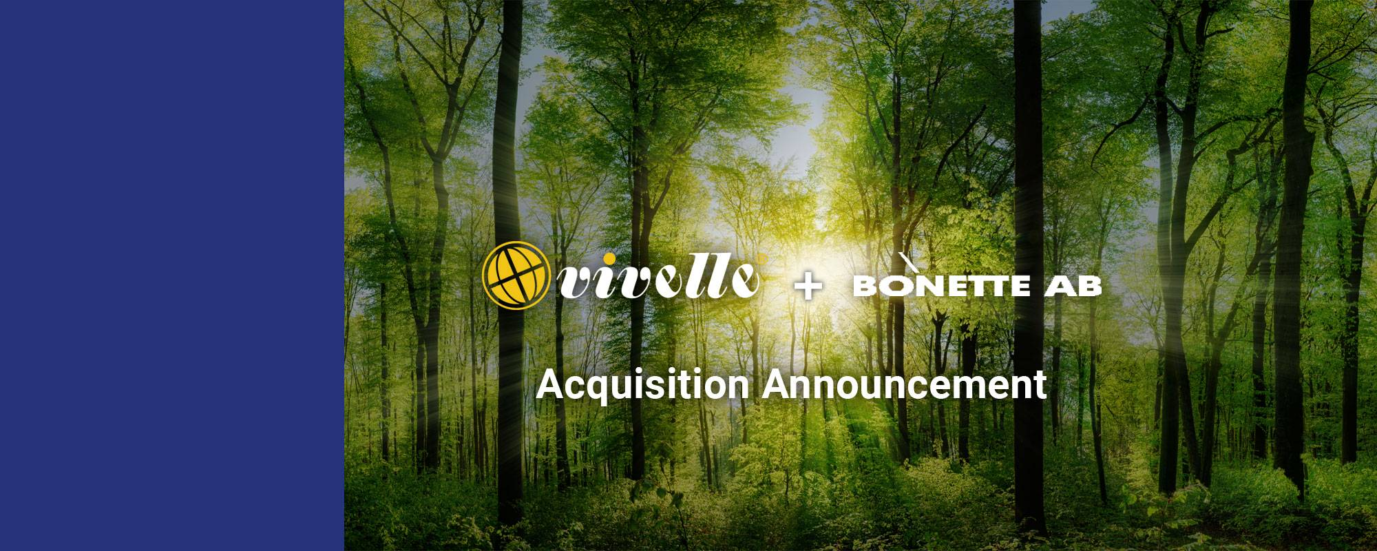 We are pleased to announce our new acquisition
